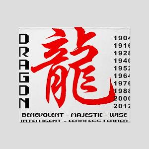 dragon64light Throw Blanket
