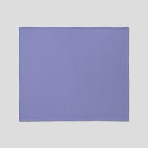 Violet Tulip Periwinkle 9295ca 26x22 Throw Blanket