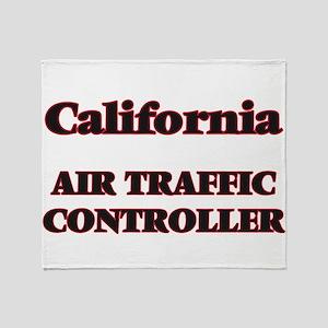 California Air Traffic Controller Throw Blanket