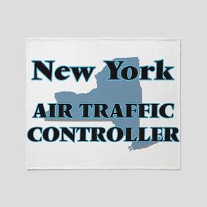 New York Air Traffic Controller Throw Blanket