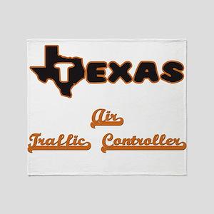 Texas Air Traffic Controller Throw Blanket