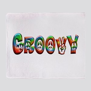 GROOVY Throw Blanket