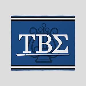 Tau Beta Sigma Greek Letters Throw Blanket