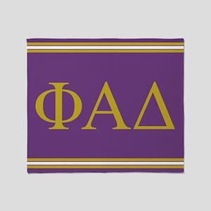 Phi Alpha Delta Throw Blanket