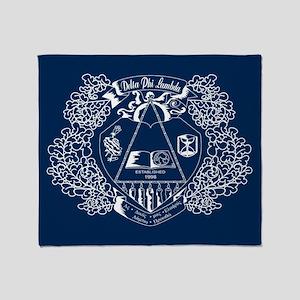 Delta Phi Lambda Crest Throw Blanket