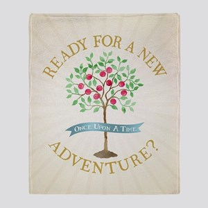 OUAT A New Adventure Throw Blanket