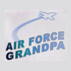 AIR FORCE GRANDPA Throw Blanket