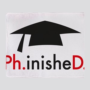 phinished Throw Blanket
