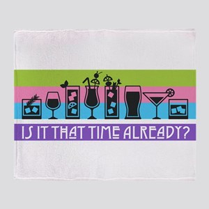 Is It That Time Already? Throw Blanket