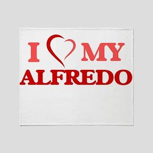 I love my Alfredo Throw Blanket