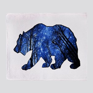 BEAR NIGHTS Throw Blanket