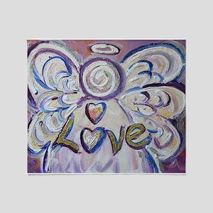 Love Angel Throw Blanket