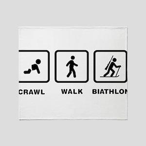 Biathlon Throw Blanket