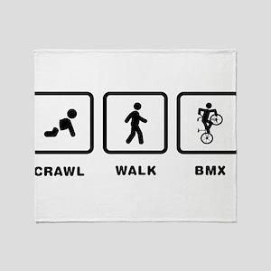 Freestyle BMX Throw Blanket