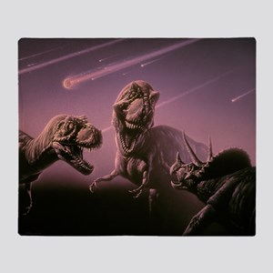 Death of dinosaurs - Throw Blanket
