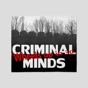 Criminal Minds Up In 30 Throw Blanket