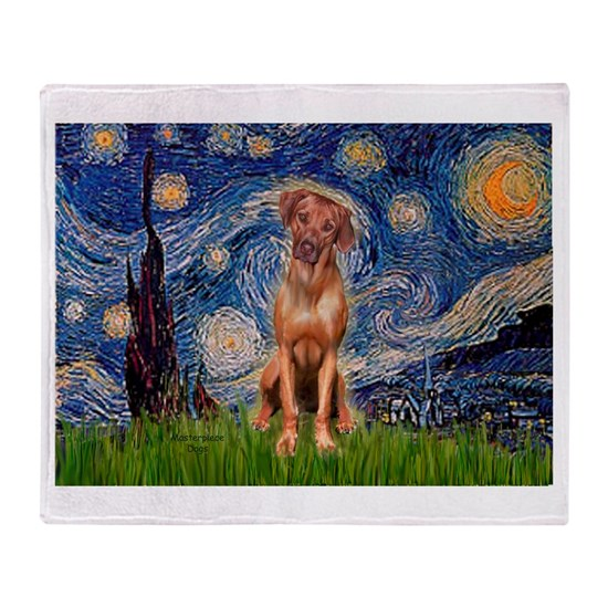 Rhodesian Ridgeback 1 - Starry Night