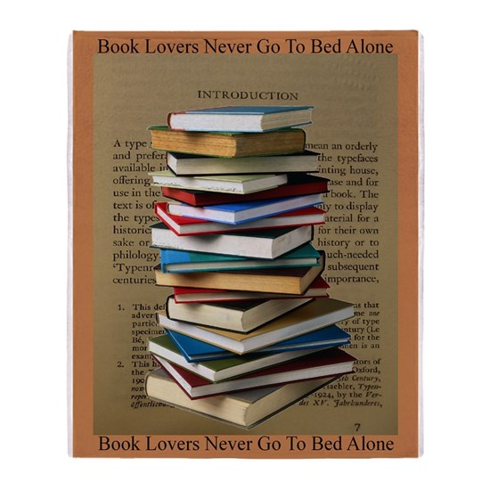 Book Lovers Blanket 2