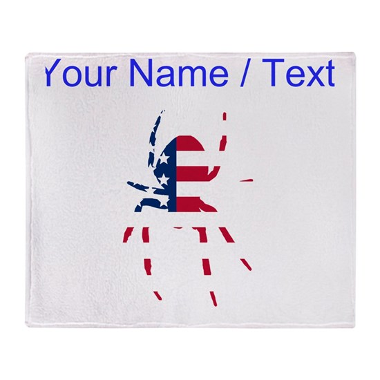 Custom American Flag Spider