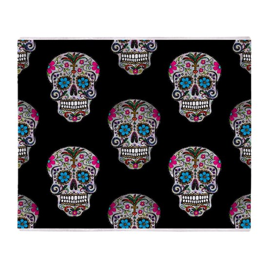 sequin Sugar Skulls