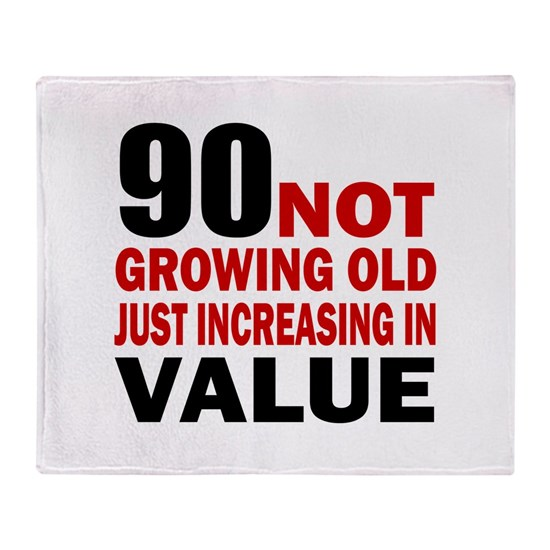 90 Not Growing Old