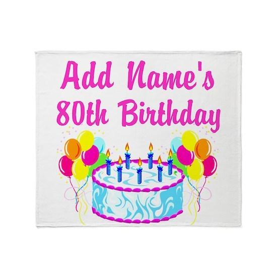 Add Names 80th Birthday