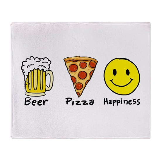 Beer Pizza Happiness