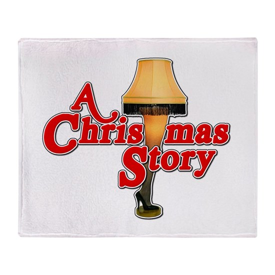 A Christmas Story Lamp.A Christmas Story Movie Lamp Throw Blanket
