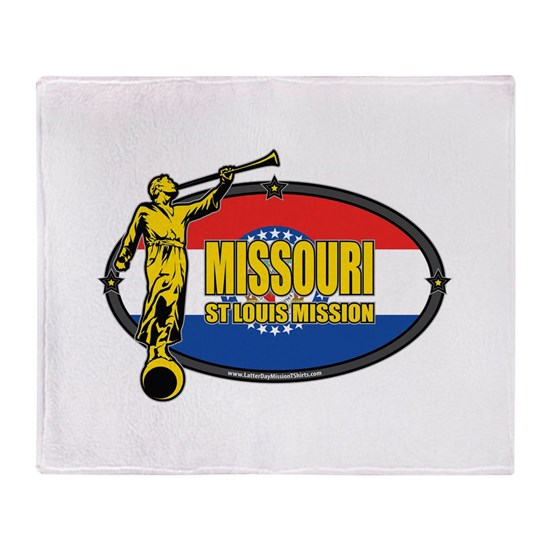 Missouri St Louis Mission - Missouri Flag - LDS Mi