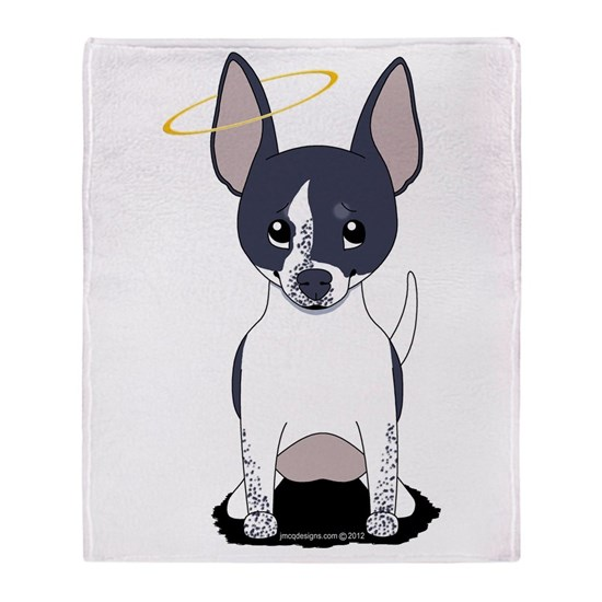 Black White Chihuahua Angel