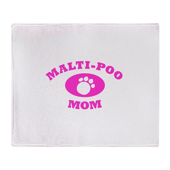 Malti Poo Mom in Pink