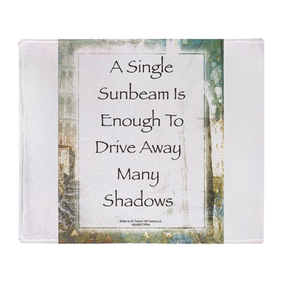 La Piazza Sunbeam Prayer by St. Francis