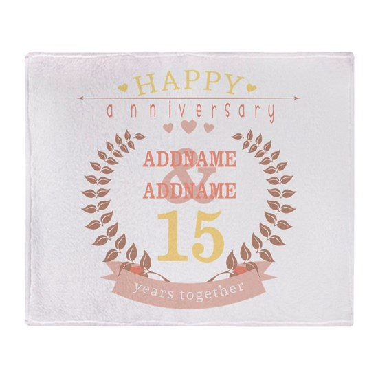 Personalized Name and Year Anniversary