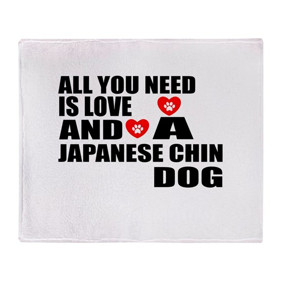 All You Need Is Love Japanese Chin Dog