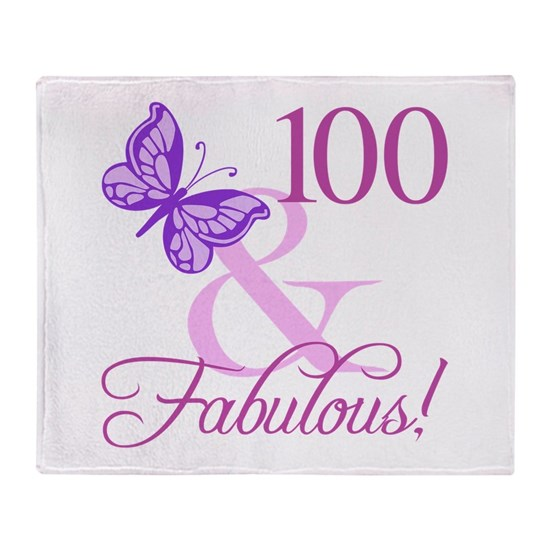 Fabulous 100th Birthday For Women