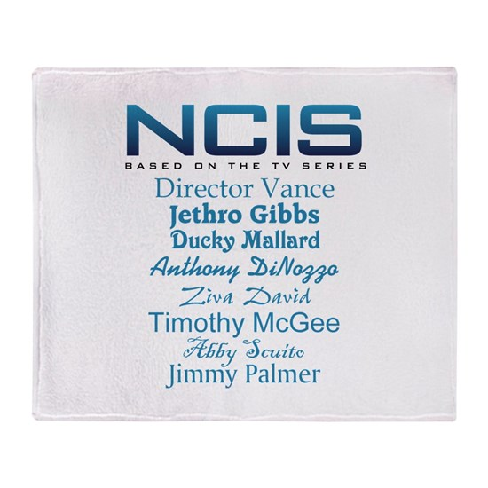 NCIS characters for blue copy
