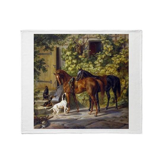 Adam Albrecht - Horses at the Porch