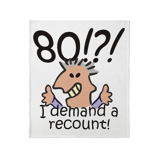 Recount 80th Birthday
