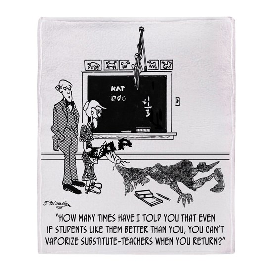 Vaporize Substitute-Teachers