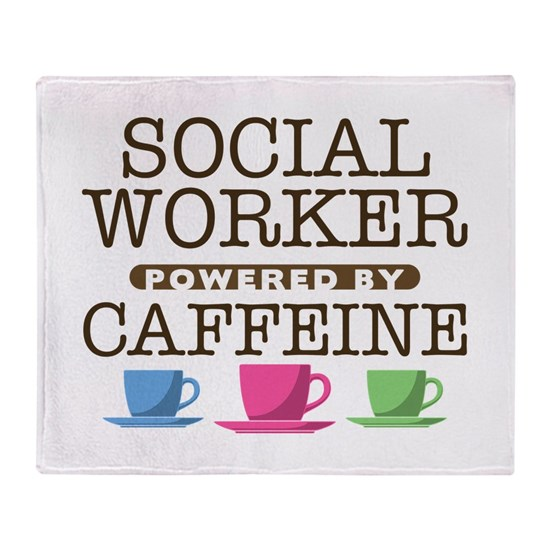 Social Worker Powered by Caffeine