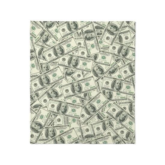 100 Dollar Bill Money Pattern