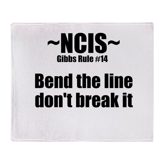 NCIS TV Gibbs Rule #14