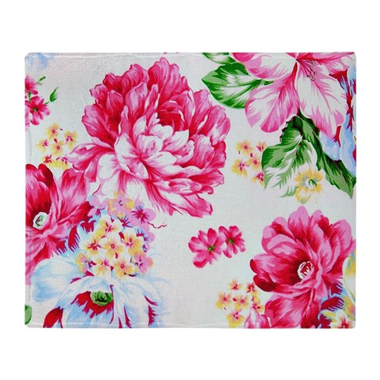 Colorful Pink Spring Summer Floral Flowers,