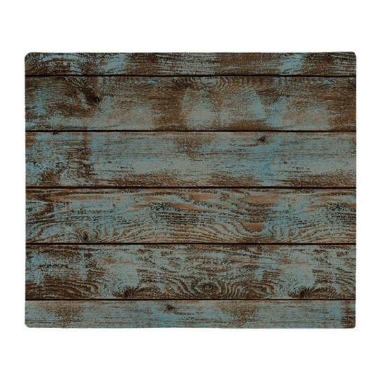 rustic western turquoise barn wood