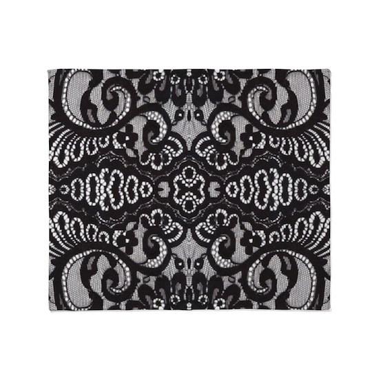 Paris vintage black  lace