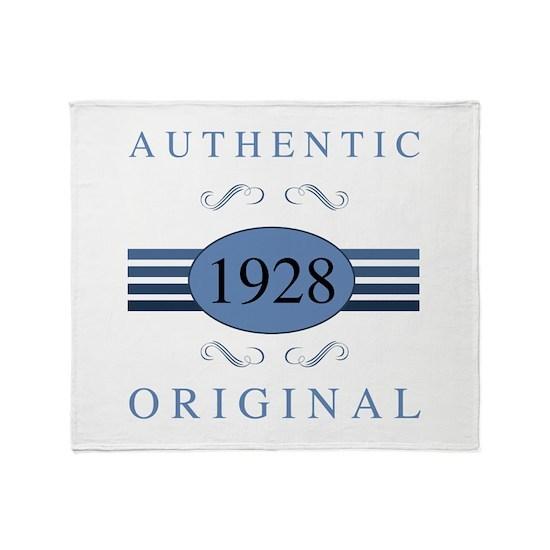 1928 Authentic Original
