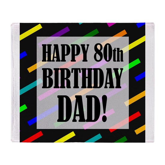 80th Birthday For Dad