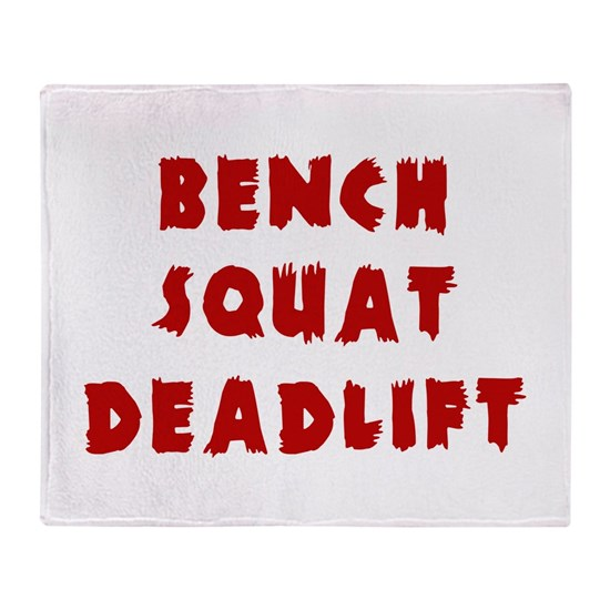 Bench Squat Deadlift