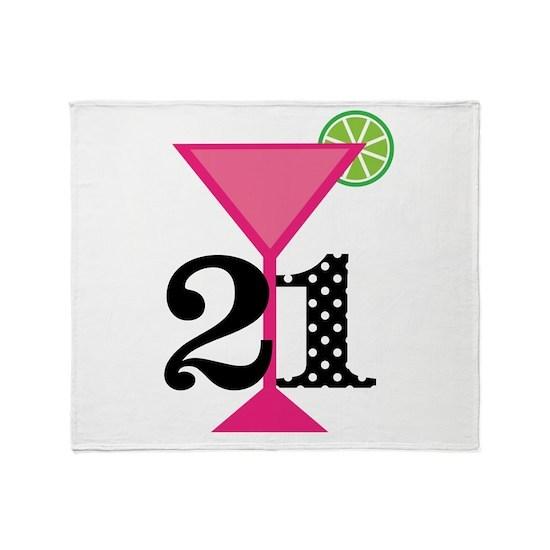 21st Birthday Pink Cocktail