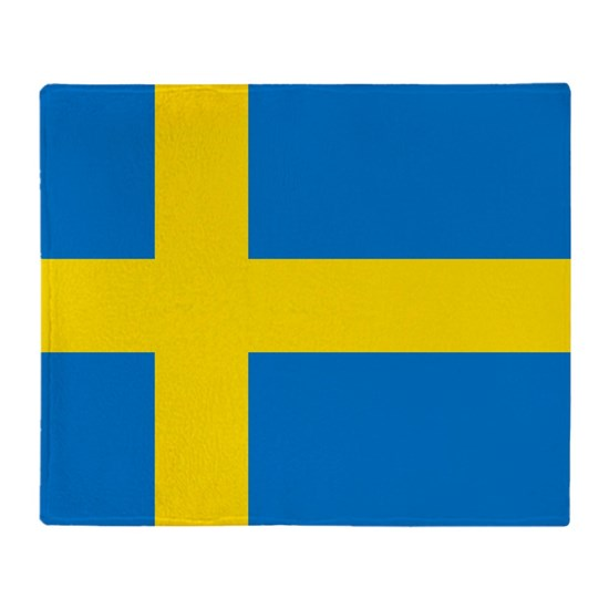 Square Swedish Flag